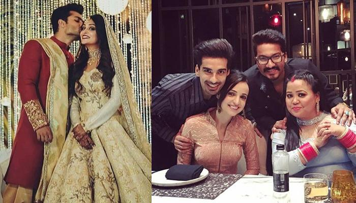 Dipika And Shoaib's Star-Studded Reception; Bharti-Haarsh, Mohit-Sanaya Attended The Function