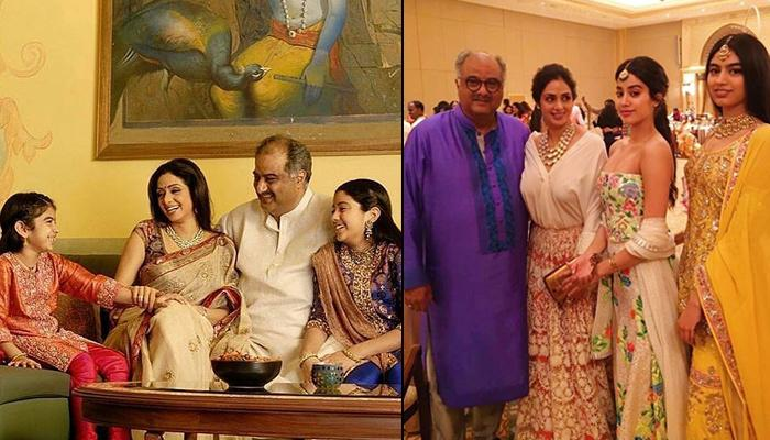 These Pics Of Sridevi With Boney, Janhvi And Khushi Prove That She Was The Backbone Of The Family
