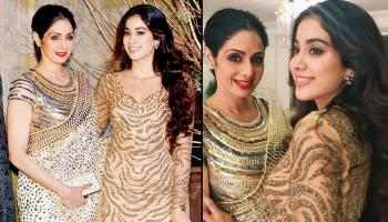 Janhvi Kapoor Is The Spitting Image Of Her Mom Sridevi Kapoor, These Pictures Are The Proof