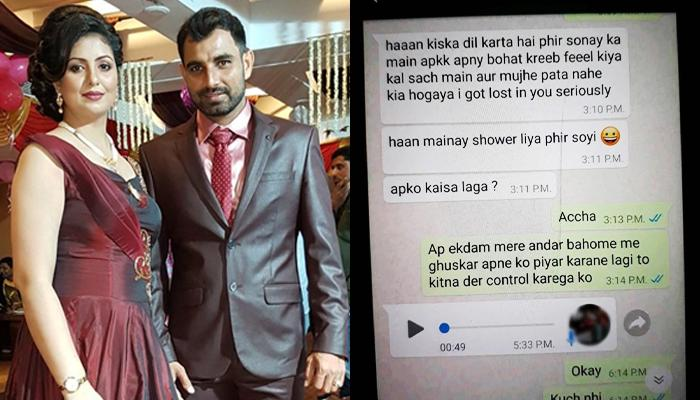 Cricketer Mohammed Shami denies reports of extramarital relationships with girls