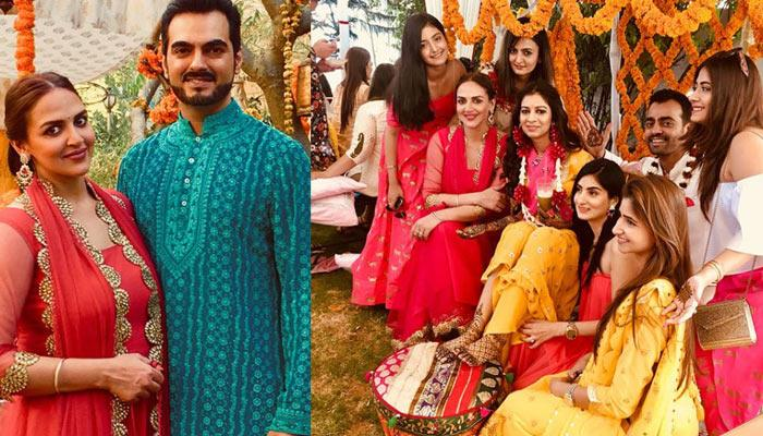 'Bhabhi' Esha Deol Looked Stunning On Her 'Devar' Divesh's Wedding And Other Celebrations