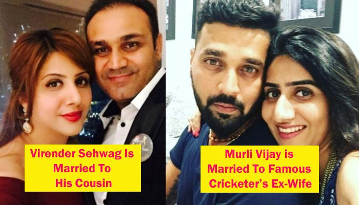 5 Famous And Talented Cricketers Who Married Their Cousins Or Friend's Ex-Wife