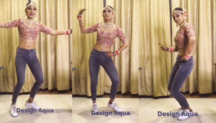 Bride's'Bhangra On'Kadar Song In'Choli, Jeans And Sneakers Has Gone Viral