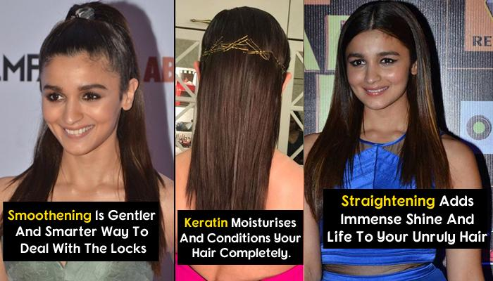 Difference Between Keratin Treatment, Smoothening And Rebonding; Everything You Need To Know About