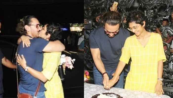 Kiran Rao Receives Aamir Khan With All Her Love On His 53rd Birthday, Gives The Best Gift To Him