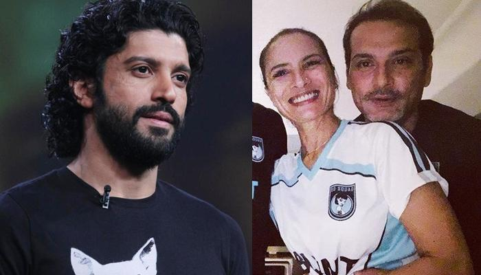 Farhan Akhtar Comments On Ex-Wife Adhuna Bhabani's Instagram Pic With Her BF Nicolo Morea