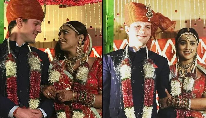 Shriya Saran Gets Married To Her Boyfriend Andrei Koscheev, Wedding Pictures Inside!