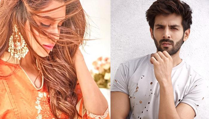 Kartik Aaryan Spotted With His Rumoured Girlfriend Who Is A Canadian Model, Pics Inside!