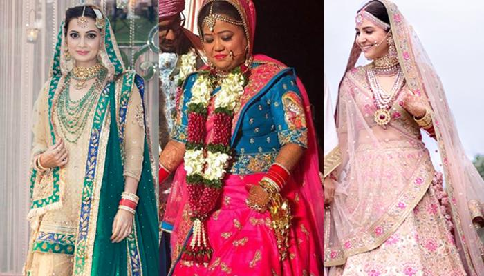 20 Bollywood And Television Divas Who Did Not Wear Red At Their Weddings