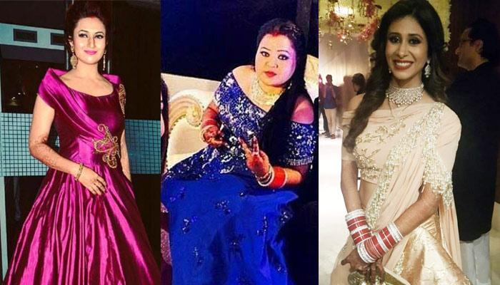 12 Beautiful TV Actresses And Their Gorgeous Real Life Reception Looks