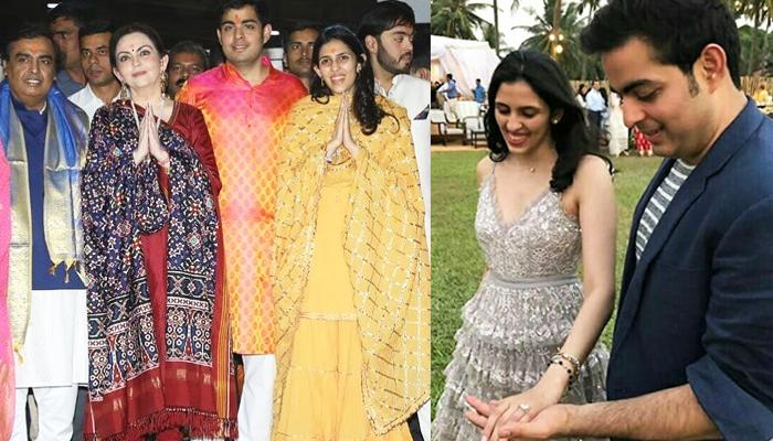 Mukesh Ambani's Son Akash Ambani Gets Engaged To Shloka Mehta Wedding To Take Place In December