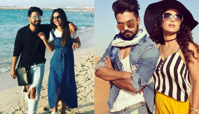 Television Couple Hina Khan And Rocky Jaiswal Are Enjoying Their Dubai Vacation, Pics Inside!