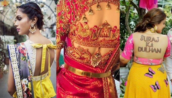 Trending Choli Designs Spotted At Real Weddings That Grabbed Our Attention For Being 'Zara Hatke'