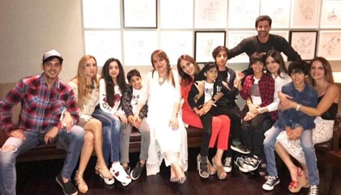 Ex-Couple Hrithik Roshan And Sussanne Khan Come Together To Celebrate Son Hredaan's 12th Birthday