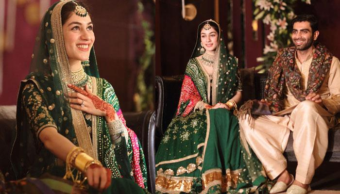 Pakistani Bride Wore Sabyasachi Green Matka Lehenga And Looked Every Bit Of Royal, Pics Inside!