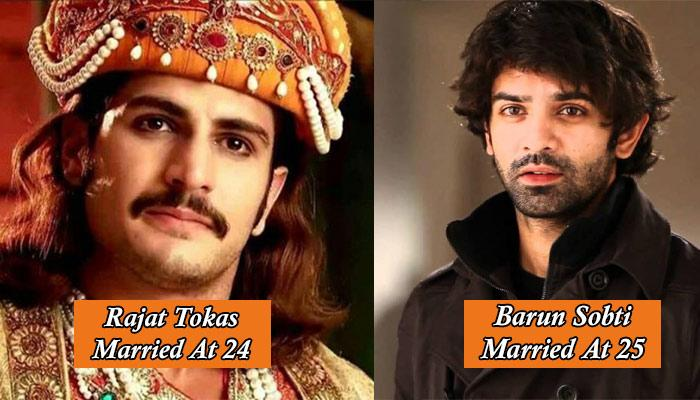 10 Television Actors Who Got Married In Their Early 20s And Are Happy Married Men Today