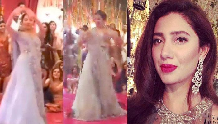Mahira Khan Set The Stage On Fire With Her Dance Performances At A Bestie's Mehendi Ceremony