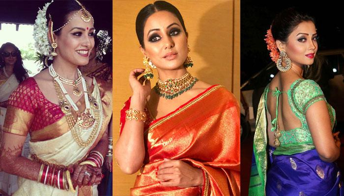 Television And Bollywood Divas Who Made South Indian Silk Sarees Look Even More Graceful