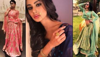 Going To Be A Bridesmaid? Take Inspiration From Fashionista Mouni Roy's Lookbook!