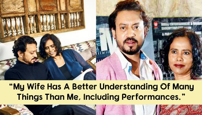 Irrfan Khan And Sutapa Sikdar Love Story: Today She Is His Biggest Fan And Best Critic