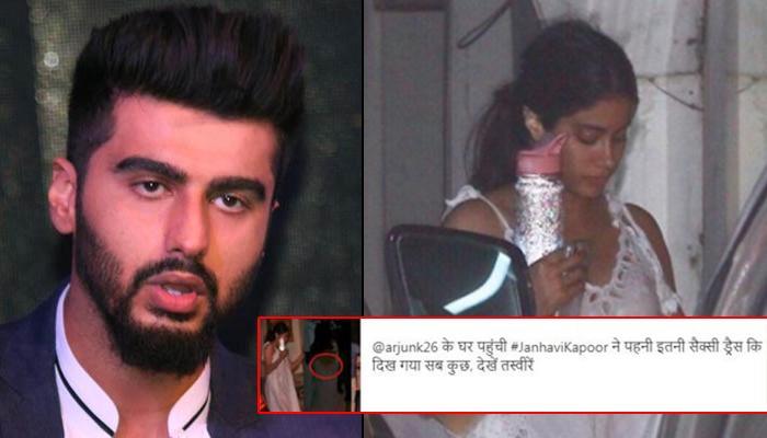 Arjun Kapoor Slams A Website For Objectifying His Half-Sister Janhvi Kapoor, Says It's Shameful