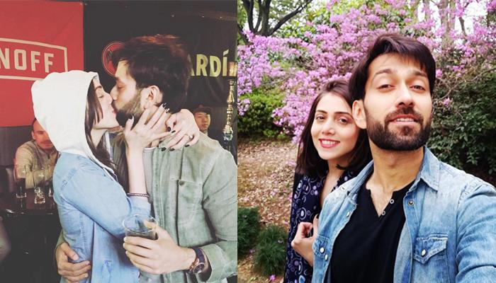 Jankee Parekh Shares A Passionate Lip-lock Picture With Hubby Nakuul Mehta From Their Japan Vacay