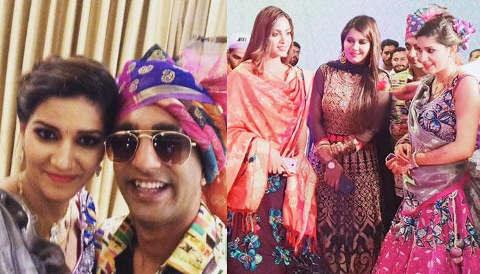 Ex-Bigg Boss Contestant Sapna Choudhary's 'Bhai' Gets Married; Arshi, Akash, Mehjabi At Celebrations