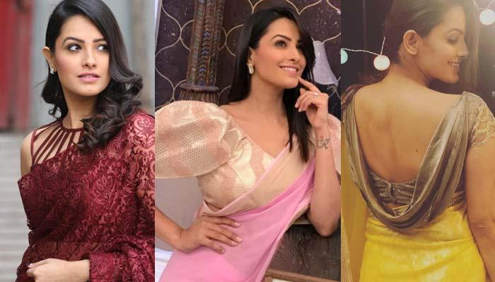 Anita Hassanandani Blouse Designs You Can Steal, Here're Best Blouse Designs From Her Wardrobe