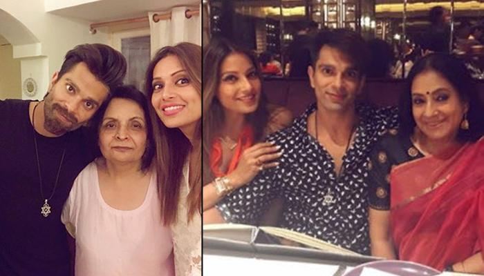 Bipasha Basu And Karan Singh Grover Spend Quality Time With Each Other's Parents