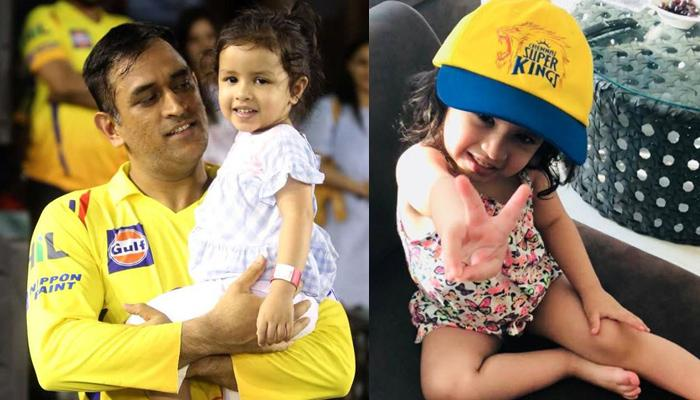 When Ziva Wanted A Hug From Her Papa MS Dhoni During An IPL Match, Watch The Video