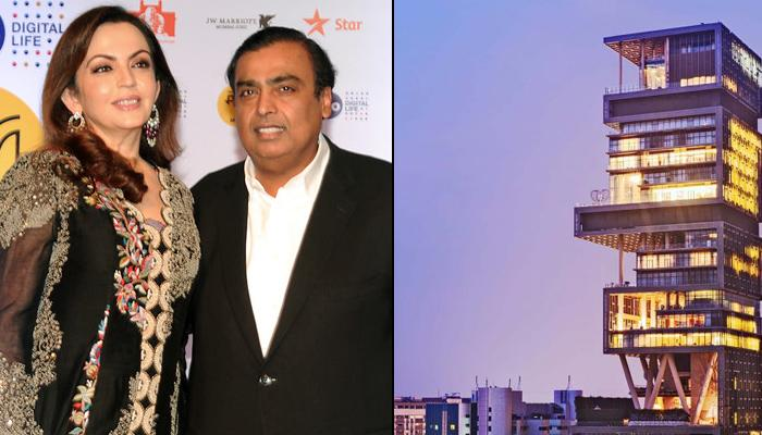 Inside Pictures Of Mukesh Ambani And Nita Ambani's Luxurious 2 Billion Dollar Home, Antilia