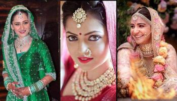 Bollywood And TV Divas Who Flaunted Stunning Jewellery On Their Wedding And Created A Trend