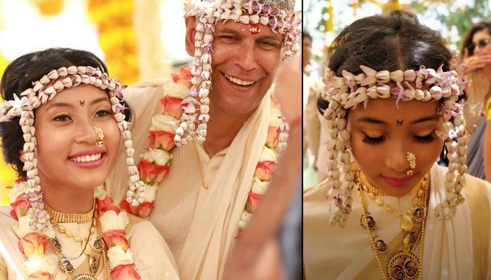 Milind Soman's Wife, Ankita Konwar's Assamese Jewellery Was Unique And A Delight To The Eyes