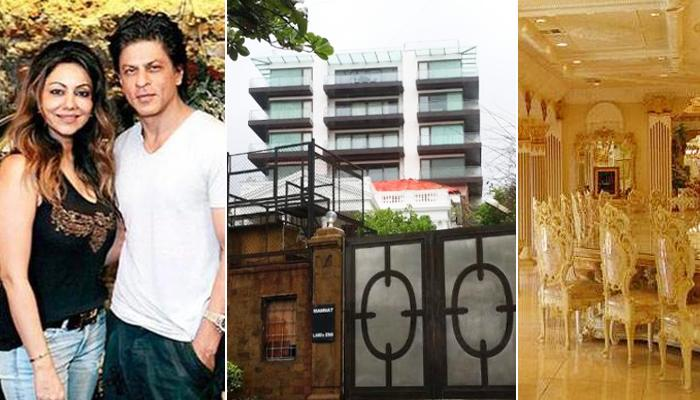This Is How The Interiors Of Shah Rukh Khan And Gauri Khan's House 'Mannat' Look Like