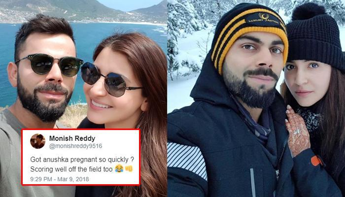 When Virat Kohli's Mysterious Tweet Left Twitterati Wondering If Anushka Sharma Is Pregnant