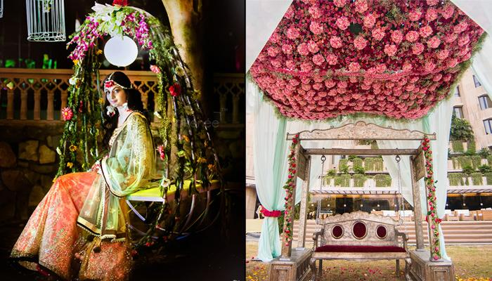 10 Stunning Jhoola Decor Ideas Borrowed From Real Weddings That Will Convince You To Have One Too