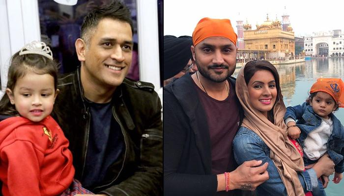 13 Indian Cricketers And Their Adorable Kids Who Are Media Sensation Just Like Their Parents