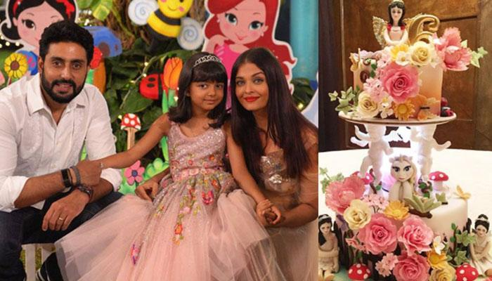 Aaradhya Bachchan's 'Enchanted Medow Themed Cake' Is As Beautiful As The Birthday Girl Herself
