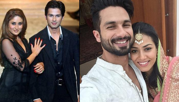 11 Women In Shahid Kapoor's Life: From Kareena Kapoor To Mira Rajput