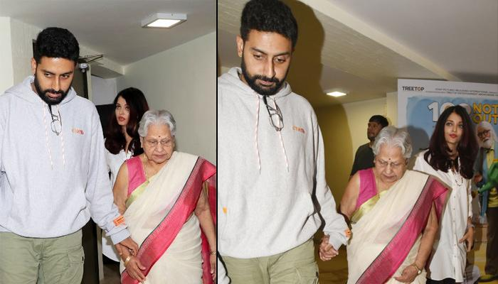 Aishwarya Escorting 'Naani-Saas' To The Car Proves She's The Perfect Bachchan 'Bahu', Video Inside
