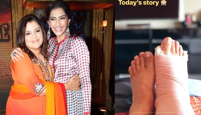 Sonam Kapoor's Sangeet Choreographer Farah Khan Fractures Leg Just A Week Before Her Wedding