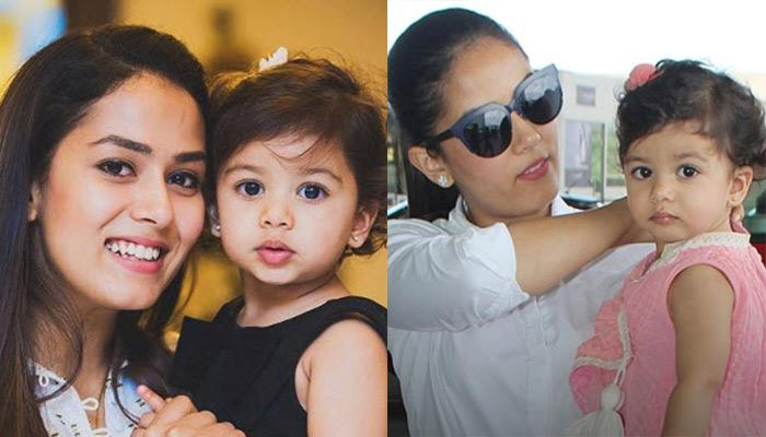 Unseen Picture Of Misha Kapoor Cuddling In Mira's Arms Prove The She Is The Carbon Copy Of Her Mommy