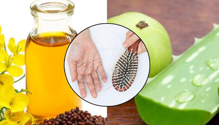 9 Simple Home Remedies To Stop Excess Hair Fall And Increase Hair Growth