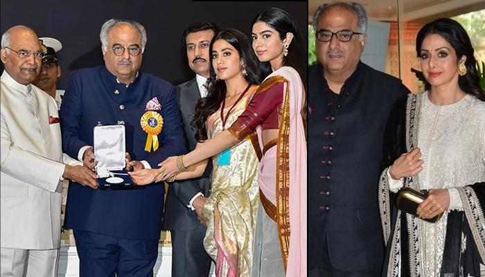 Boney Kapoor Is Proud Of Sridevi Kapoor Getting The Best Actress National Award For 'Mom'