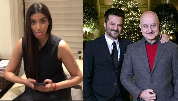 Anil Kapoor's'Second Wife Anupam Kher Shares An Adorable Video Of Bride-To-Be Sonam Kapoor