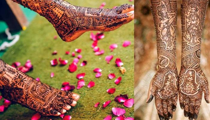 10 Best Bridal Mehendi Design Combos For Your Hands And Feet To