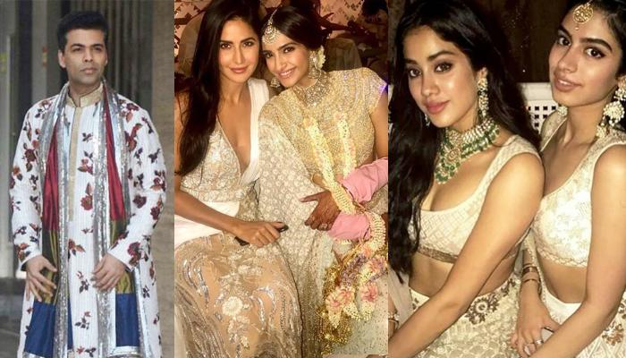 B-Town Celebs At 'Sonam Ka Sangeet', Raise Fashion Quotient With The 'Shades Of White' Outfits