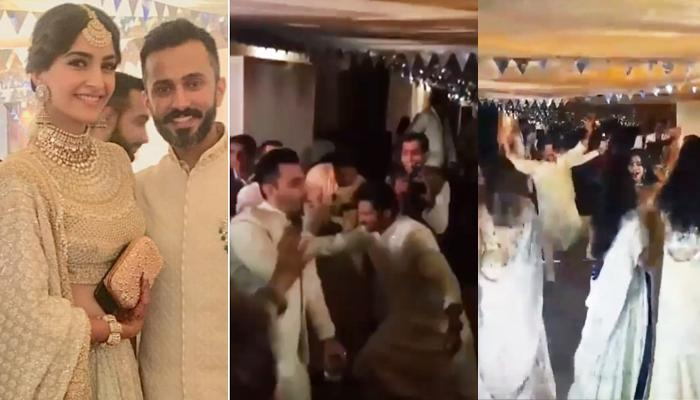 'Papa' Anil Kapoor Could Not Control Himself And Dances Crazily On Sonam's Sangeet [Watch]