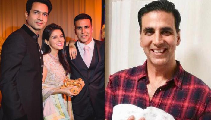 Akshay Kumar Shares The First Picture Of Asin And Rahul's Angelic Baby Girl