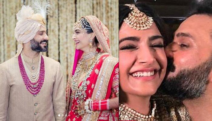 Anand Ahuja Kissing On Sonam Kapoor's Cheek Is The Loveliest Thing You'll See Today